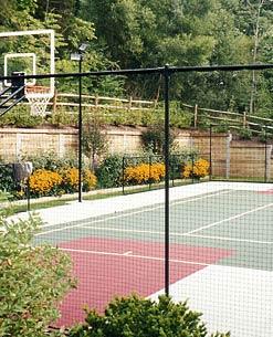 A Indústria de Telas Ramacrisna dispõe de telas, alambrados e cercas para quadras esportivas (futebol, basquete, tênis, vôlei, peteca etc).